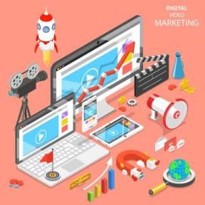 109129804-digital-video-marketing-flat-isometric-vector