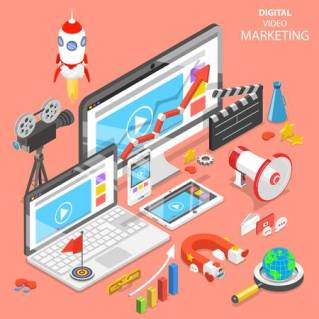 109129804-digital-video-marketing-flat-isometric-vector